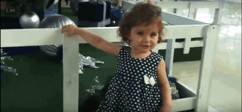 Video da Minha Filha Olivia
